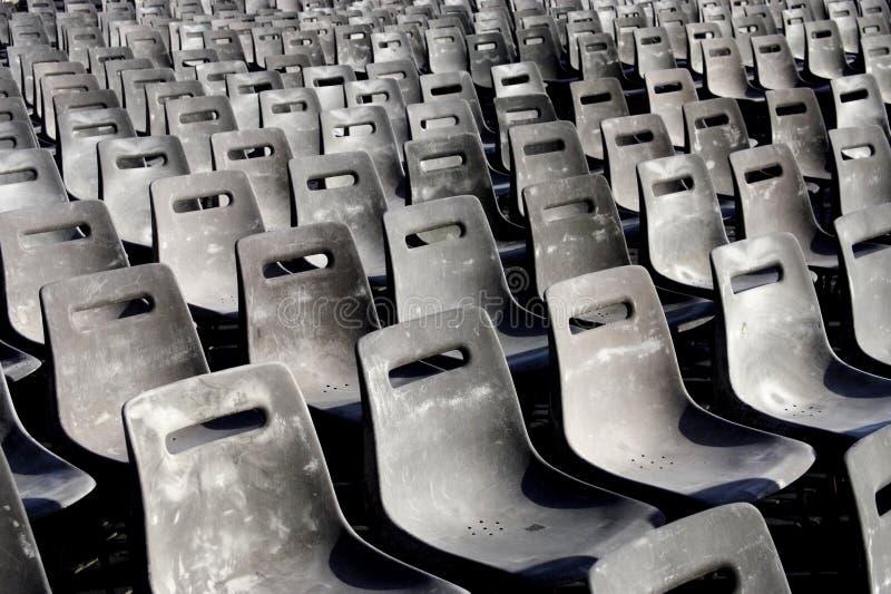 Lignes des sièges photos stock