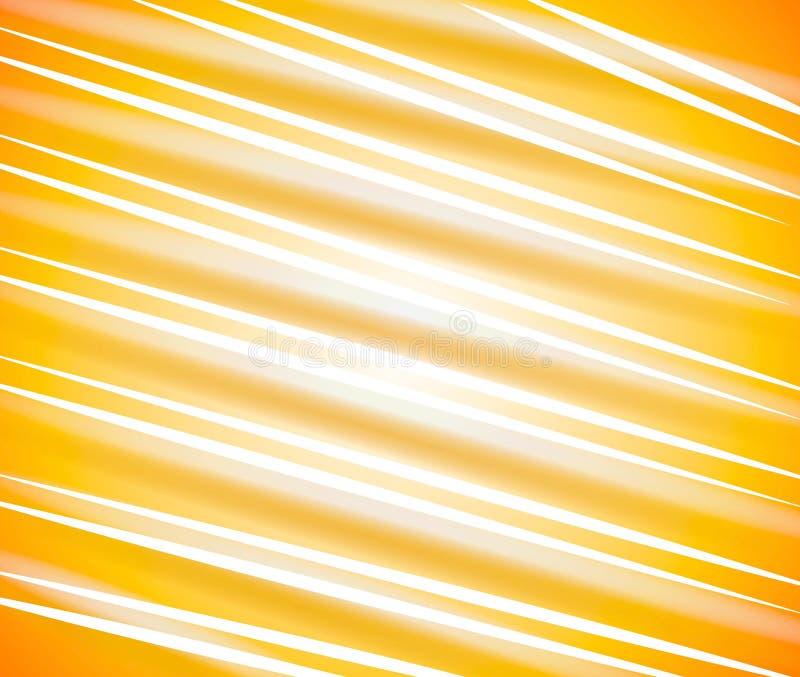 Lignes diagonales configuration d'or illustration de vecteur