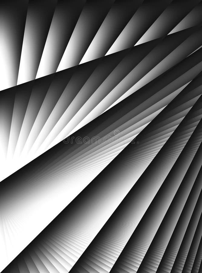 Lignes diagonales configuration de pistes illustration libre de droits