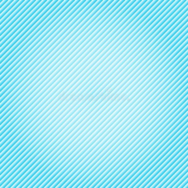 Lignes diagonales modèle de gradient bleu Répétez le CCB de texture de rayures illustration stock