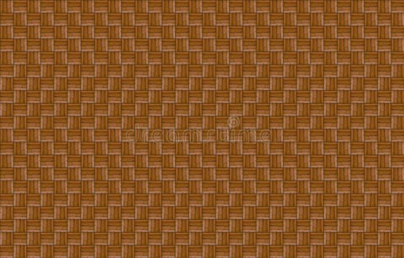 Lignes géométriques fond extérieur foncé de modèle d'effet en bois de vague d'eco illustration libre de droits
