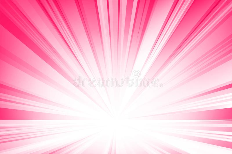 Lignes légères douces roses fond abstrait Illustration de vecteur illustration de vecteur