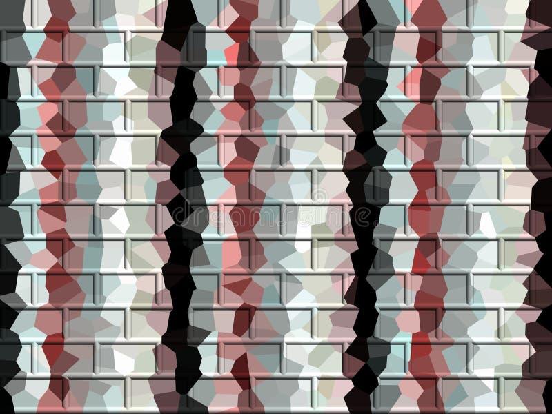 Lignes noires roses argentées fond futuriste, formes, texture abstraite illustration de vecteur