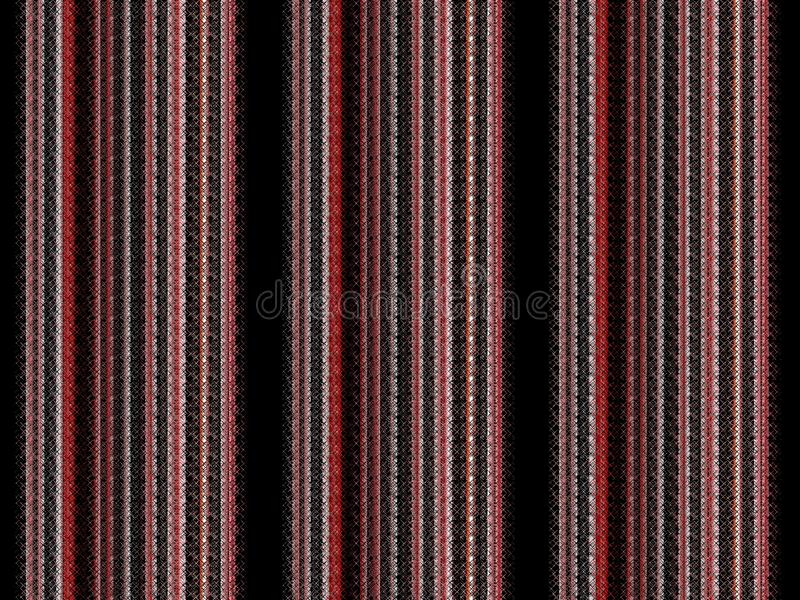 Lignes noires rouges argentées fond futuriste, formes, texture abstraite illustration de vecteur
