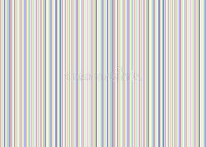 Lignes pâles fond illustration stock