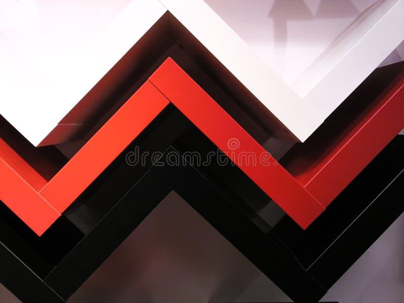 Lignes pour des buts architecturaux images stock