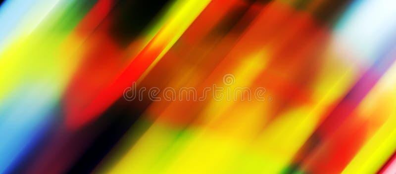 Lignes roses jaunes rouges bleues de siilver, lumières, fond de formes illustration de vecteur