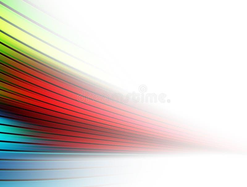 Lignes tache floue illustration de vecteur