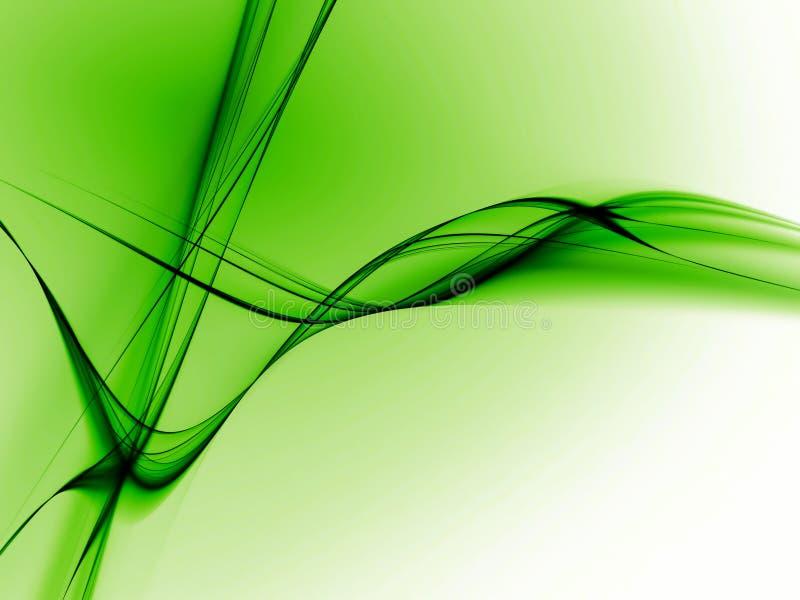 Lignes Vertes illustration libre de droits