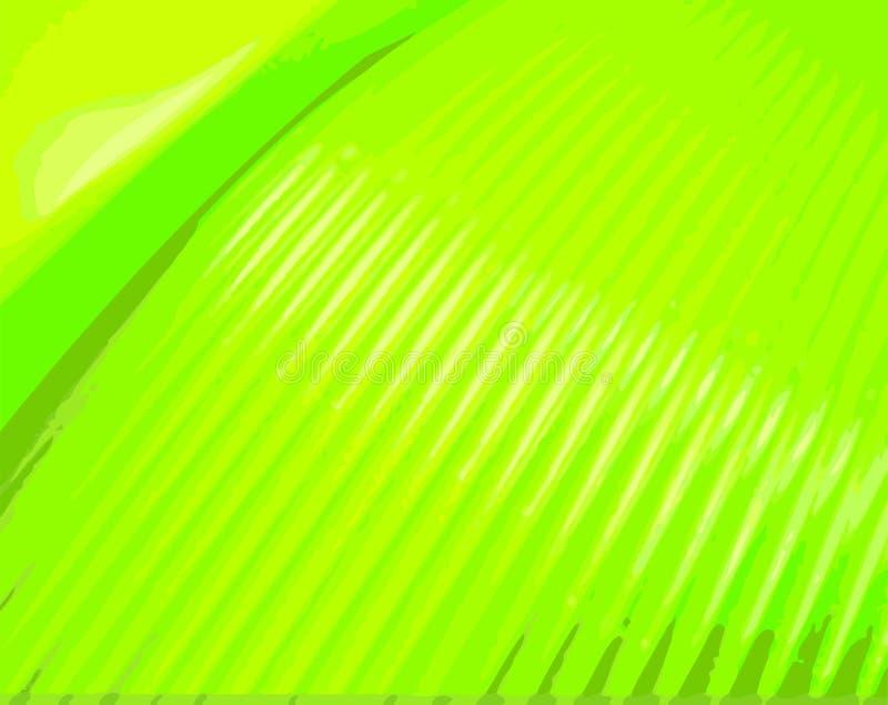 Lignes Vertes illustration de vecteur