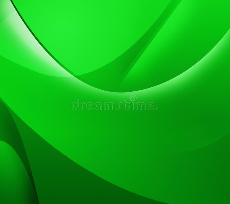 Lignes vertes abstraites de whith de fond images libres de droits