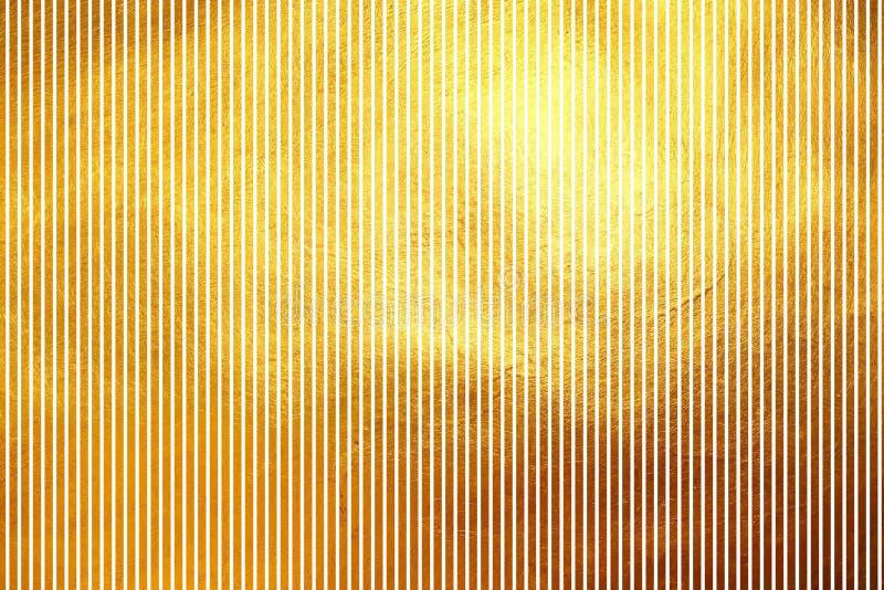 Lignes verticales d'or shinning modernes dynamiques créatives uniques fond abstrait de modèle de texture Élément de conception image libre de droits