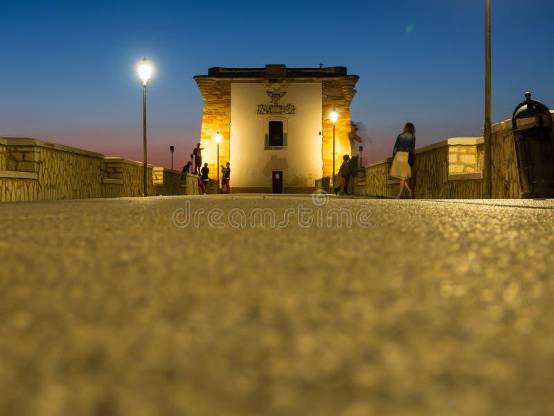 Ligny torn i Trapani arkivfoto