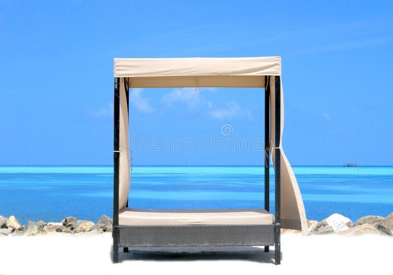 Ligstoelen royalty-vrije stock afbeelding
