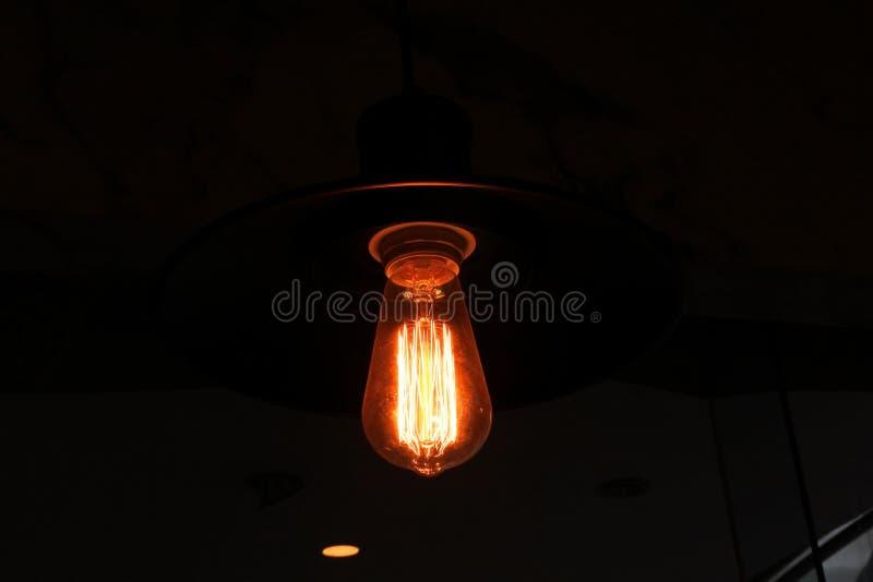 Ligth de l'électricité images libres de droits