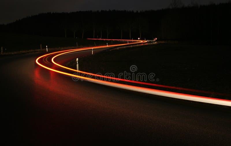 Ligths αυτοκινήτων στοκ φωτογραφία με δικαίωμα ελεύθερης χρήσης