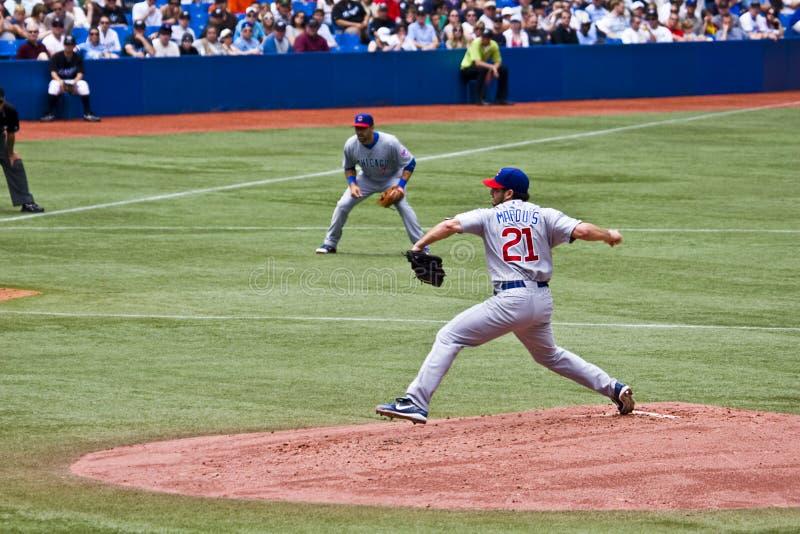 Ligue Majeure De Baseball : Marquis De Jason Photographie éditorial