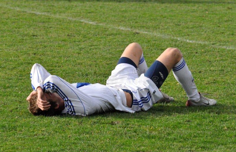 Ligue Moravian-Silésienne, joueur de football Milan Kerbr illustration stock