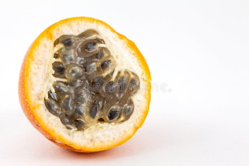 Ligularis della passiflora della granadiglia dolce immagine stock