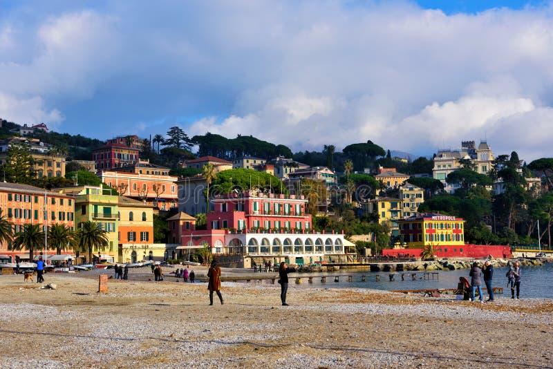 Ligure Лигурия Италия margherita Санта стоковая фотография rf