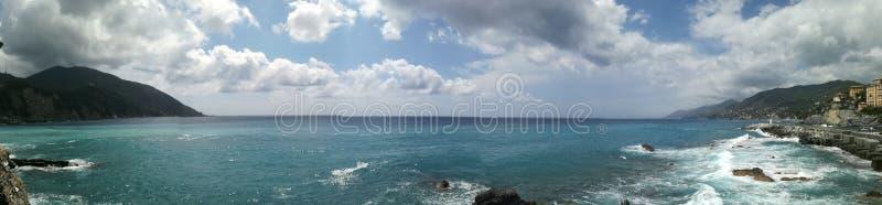 Liguria& x27; s-hav royaltyfri foto