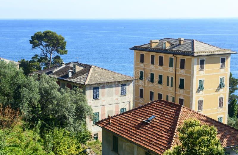 Ligurien, Riviera di Levante stockbilder