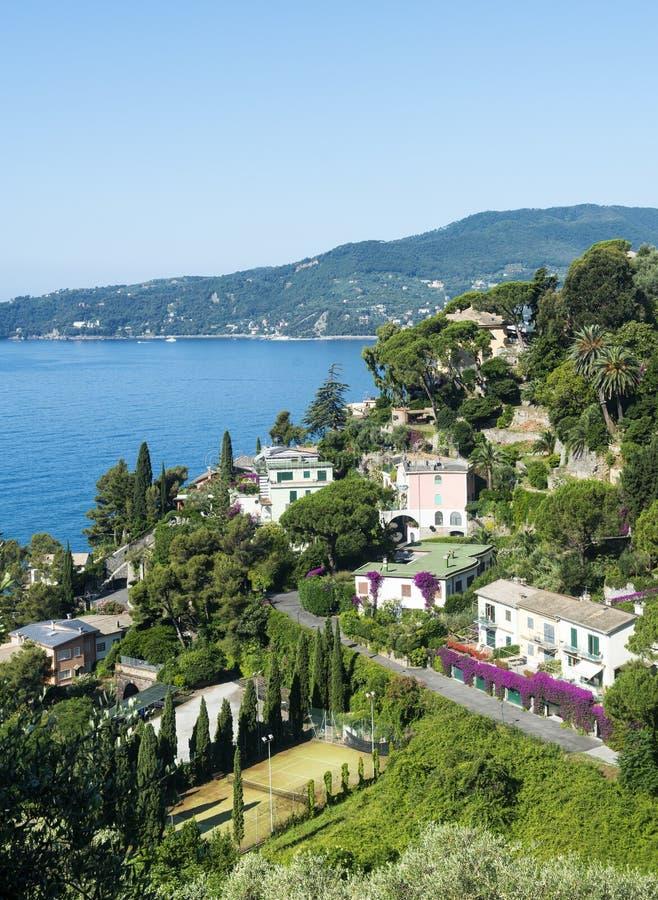 Ligurien, Riviera di Levante lizenzfreie stockfotografie