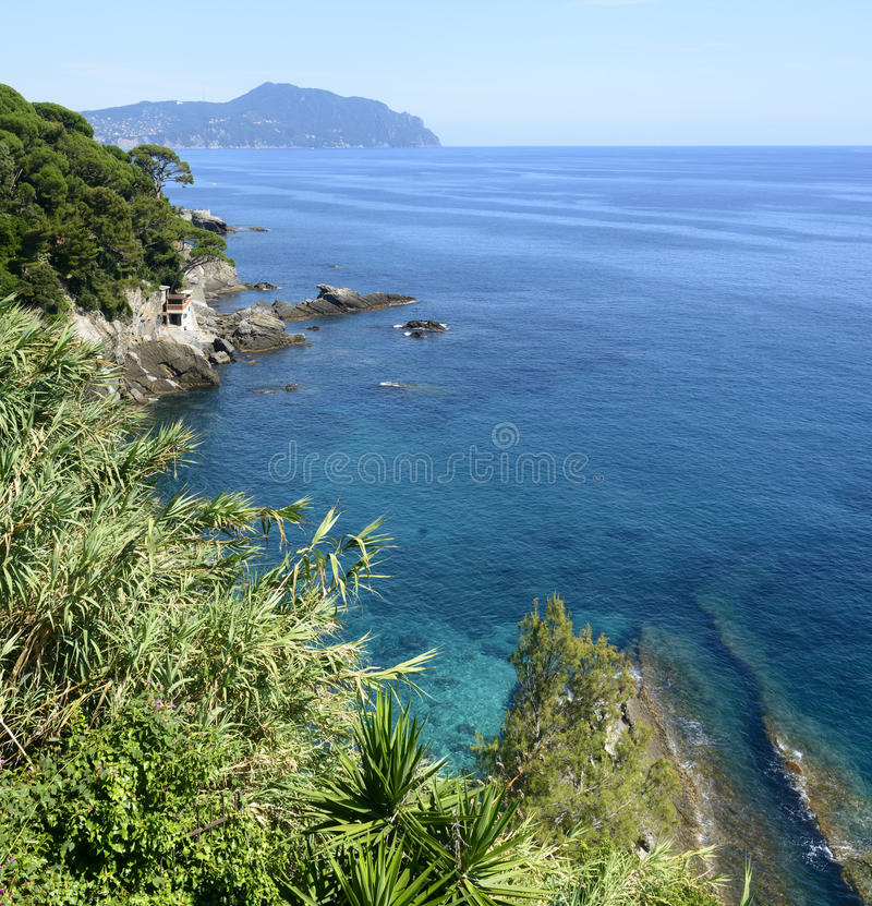 Ligurien, Riviera di Levante lizenzfreie stockbilder