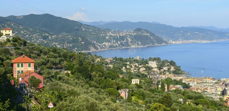 Ligurien, Riviera di Levante stockbild