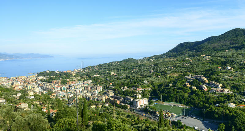 Ligurien, Riviera di Levante lizenzfreies stockfoto