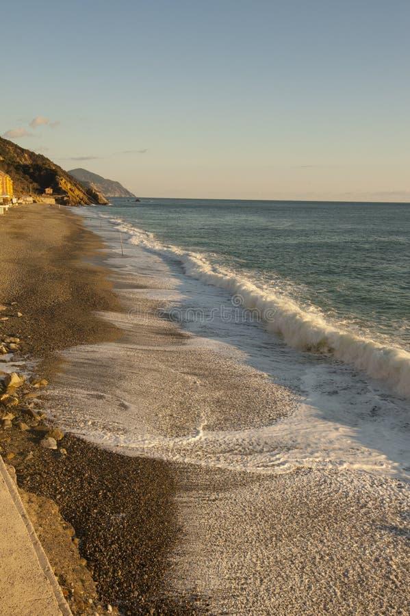 Liguryjski morze zdjęcia stock