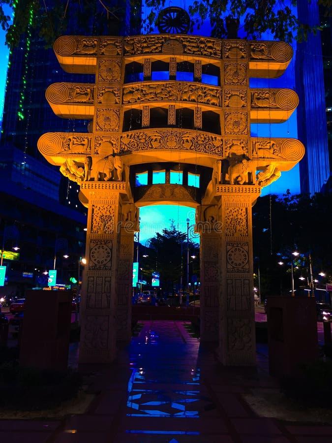 Liitle la India, Kuala Lumpur fotos de archivo