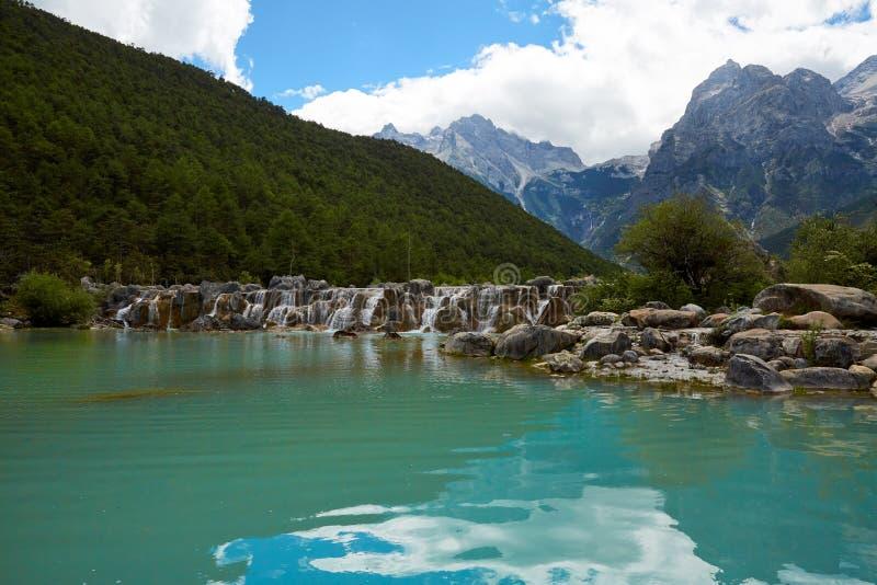 Lijiang Blue Moon dolina, Yunnan, Chiny obraz royalty free