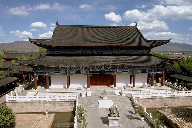 Lijiang, China: Huis van Mu stock foto