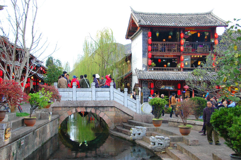 LIJIANG, CHINE photo libre de droits