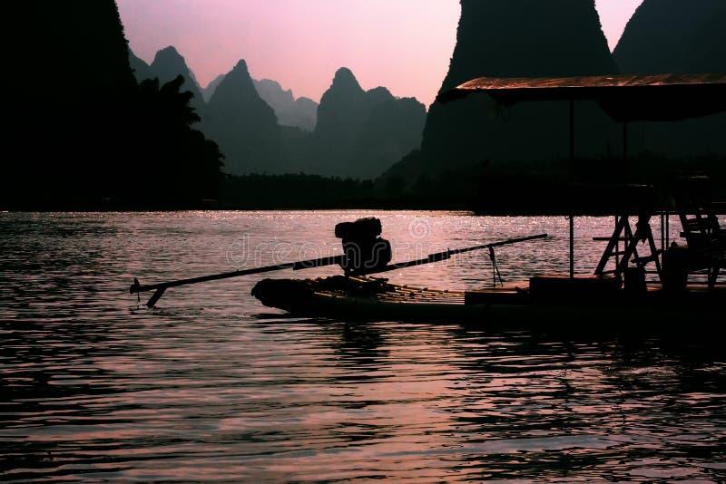 Lijiang et radeaux photo libre de droits
