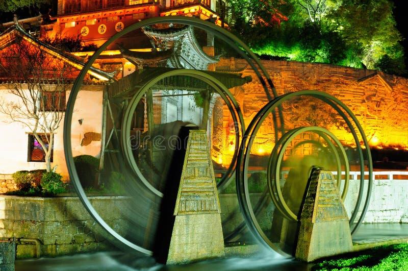 Lijiang gammal town i Kina royaltyfri foto