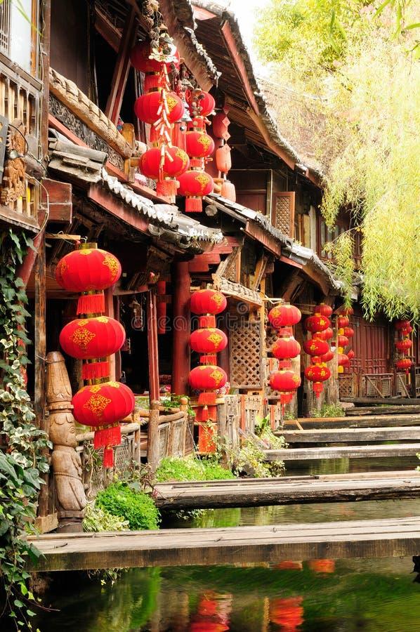 Lijiang gammal town i Kina royaltyfria foton