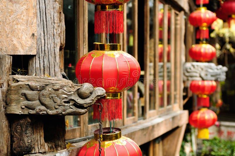 Lijiang gammal town i Kina royaltyfria bilder