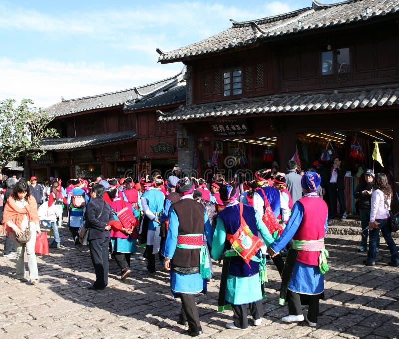 lijiang miasta fotografia royalty free