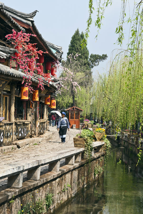 Download Lijiang Old Town editorial stock image. Image of down - 20716959