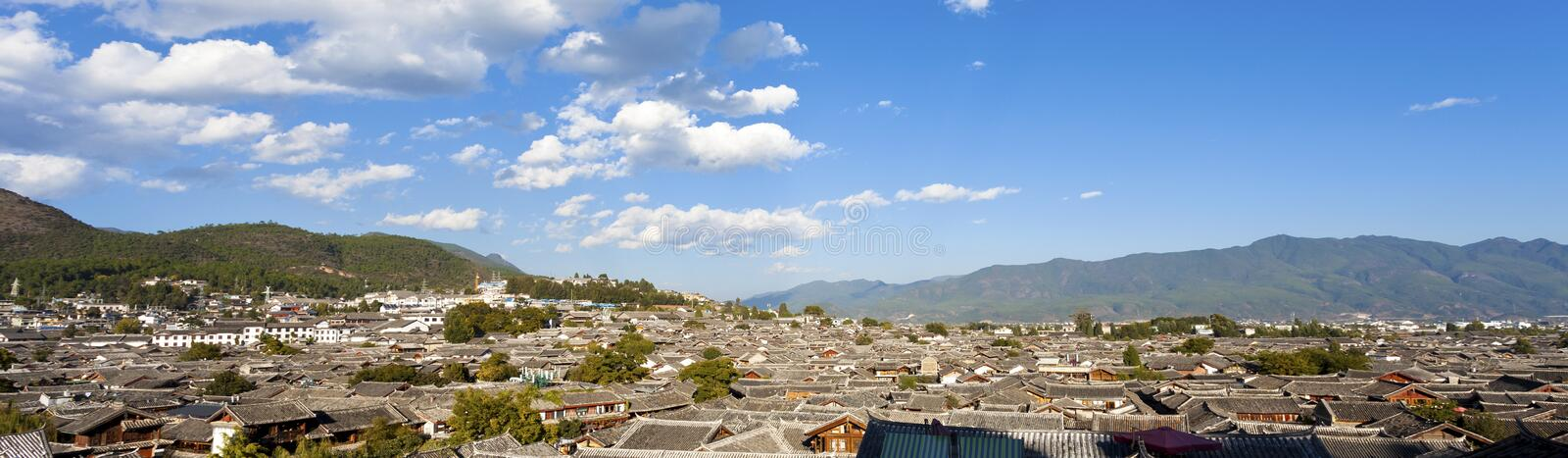 Lijiang old town in China