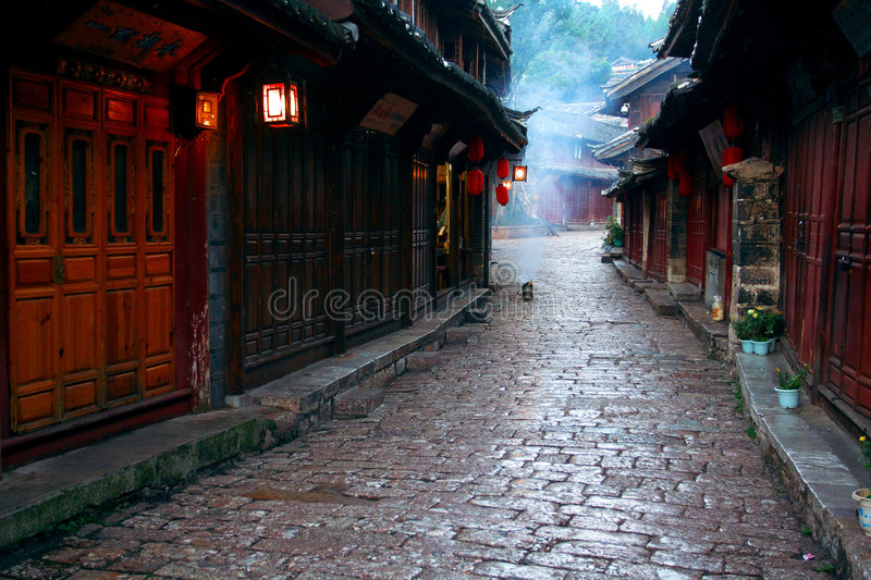 Lijiang river. It is beautiful in lijiang river in morning stock images