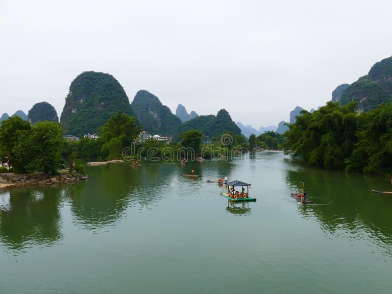 LiJiang River stock photos