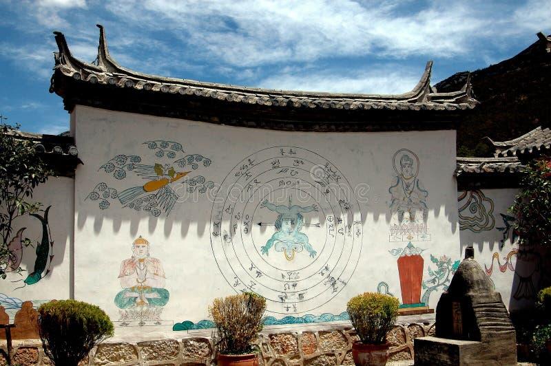 Lijiang Twp, China: Huis van het Dorp van Ba van dong het Culturele stock fotografie