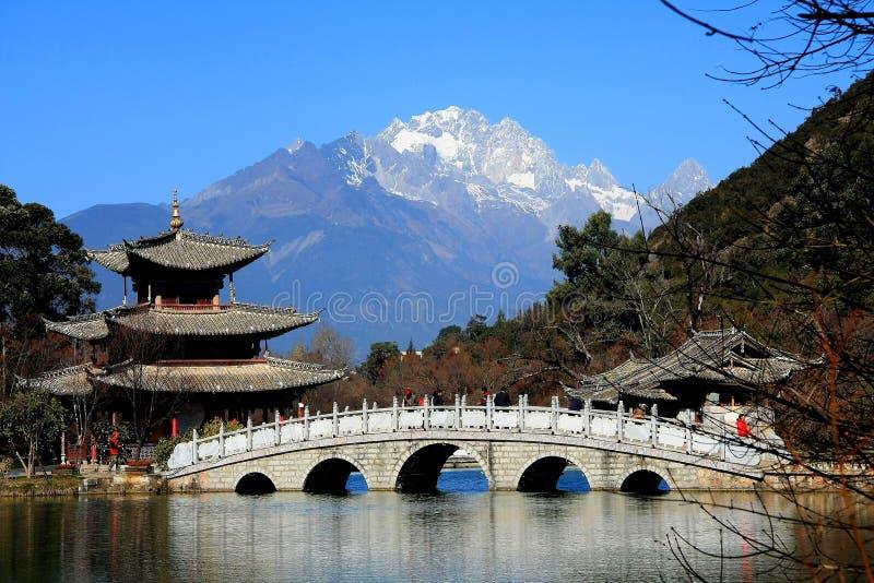 Lijiang, Yunnan, Chiny obraz royalty free