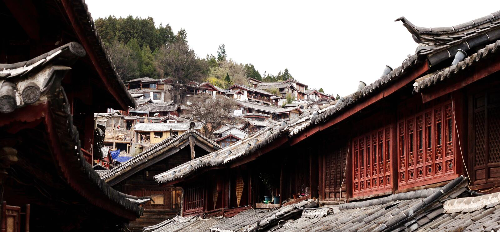 Download Lijiang in yunnan province stock image. Image of eastern - 25606013