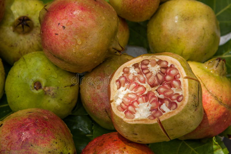 Lijiang, Yunnan Shuhe - υγιή τρόφιμα φρούτων ροδιών στοκ εικόνες με δικαίωμα ελεύθερης χρήσης