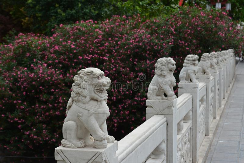 Lijing portområde royaltyfria bilder