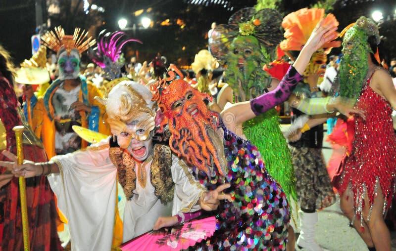 Lijkenetende geesten op Parade royalty-vrije stock afbeelding